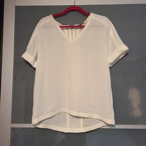 White blouse from Dynamite